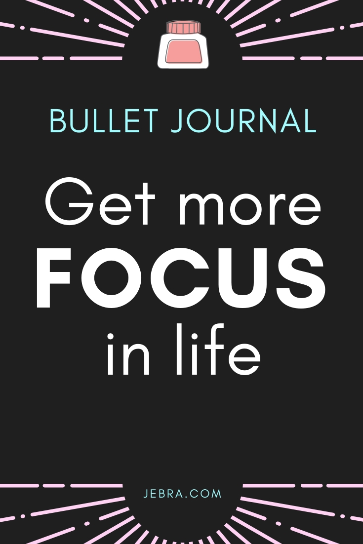 Find more focus in your life for greater balance and productivity with a bullet journal. Get ideas and tips for beating procrastination and writing prompts for discovering what's really important to you.