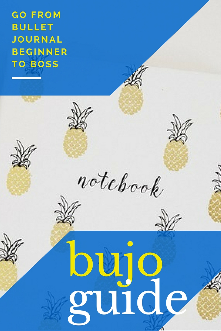 Bullet Journal, Bujo, How to Start a Bullet Journal