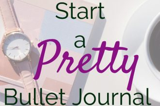 Start a Pretty Bullet Journal in 2019. Sure you want to journal for productivity, too. Learn everything you need to know to start a bullet journal as a beginner.