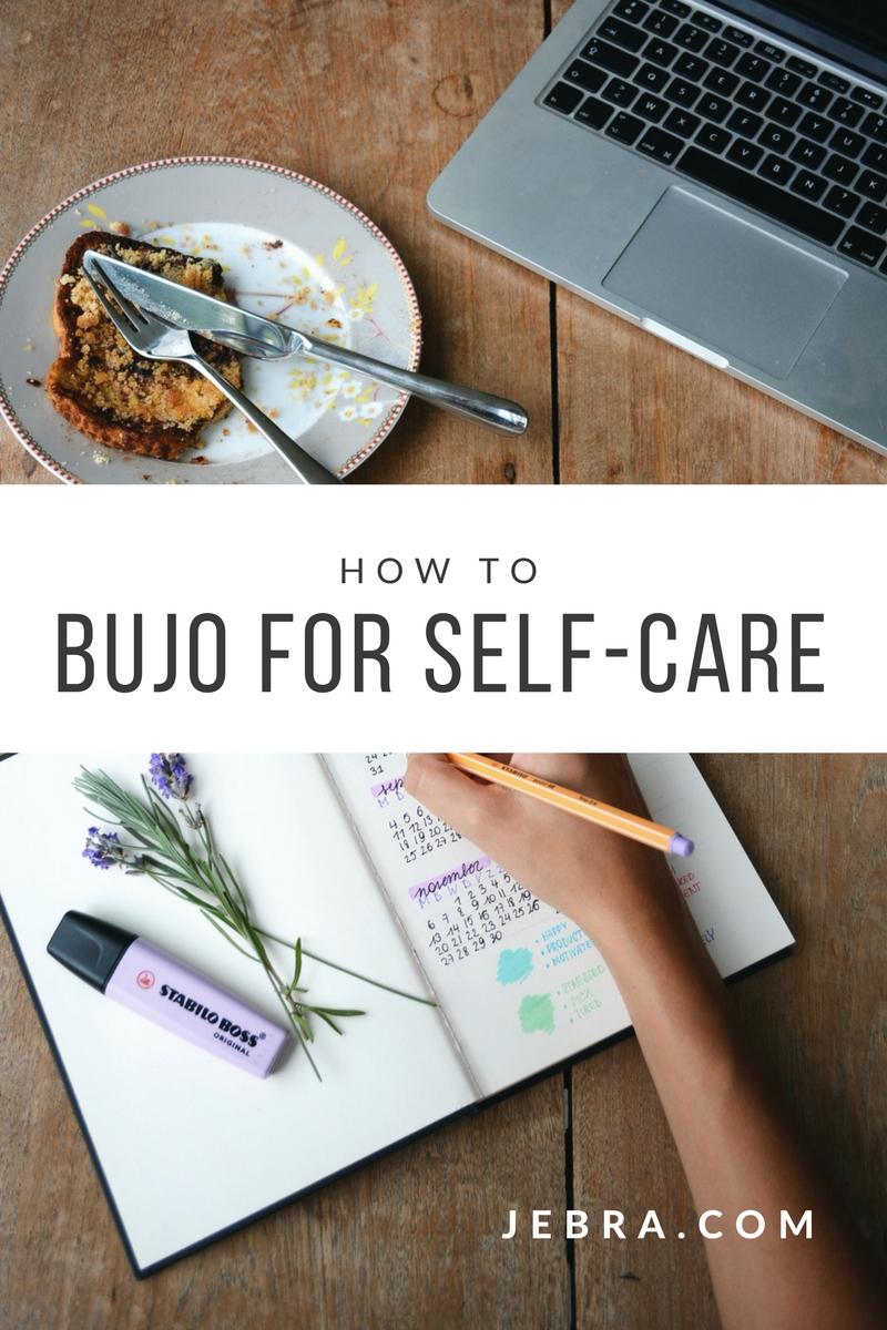 Bullet journal for self-care