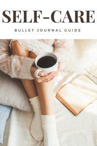Self-care for bullet journal