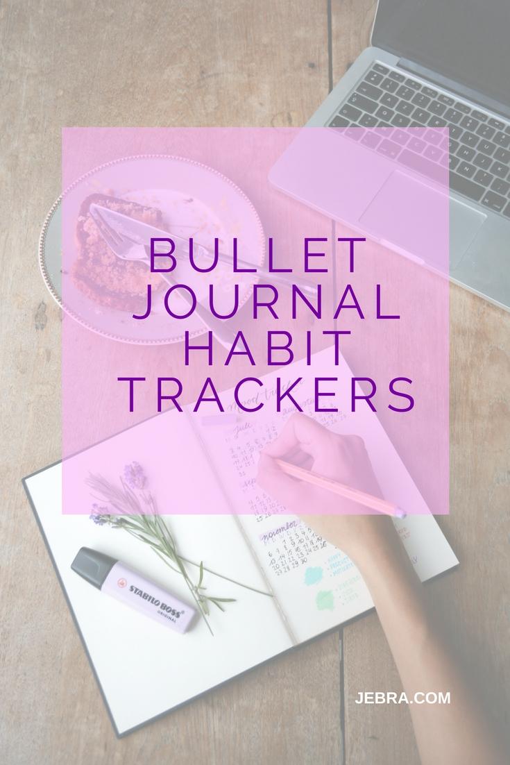 bullet journal habit tracker ideas