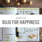 How a bullet journal can make you happier, using lists, trackers, and other planner spreads.