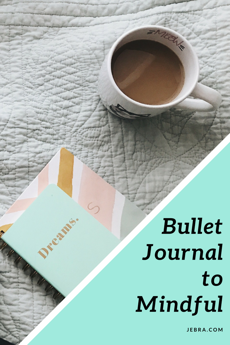 5 steps to mindfulness through bullet journal prompts, ideas, and tips