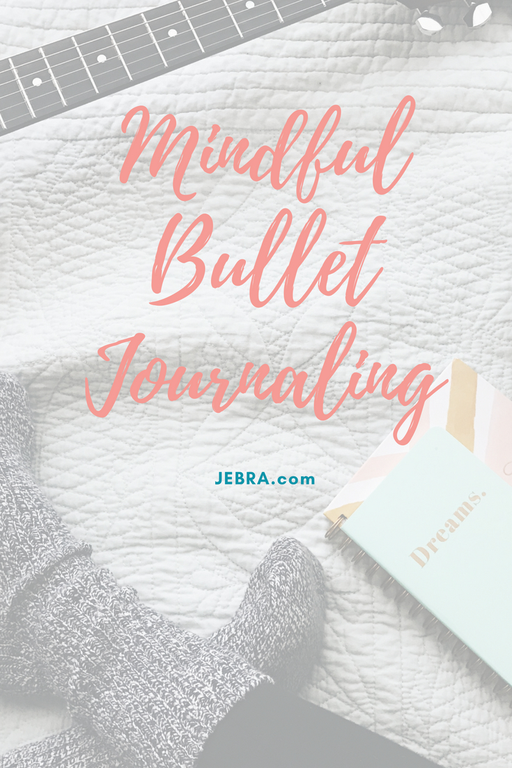 Mindful bullet journaling inspiration to track your life and mental health.