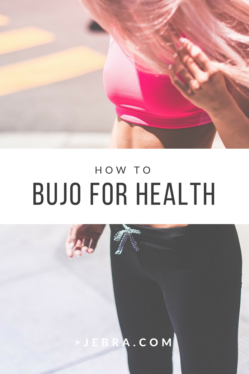 Bullet journaling can boost your health and fitness, with healthy habit trackers and layouts.