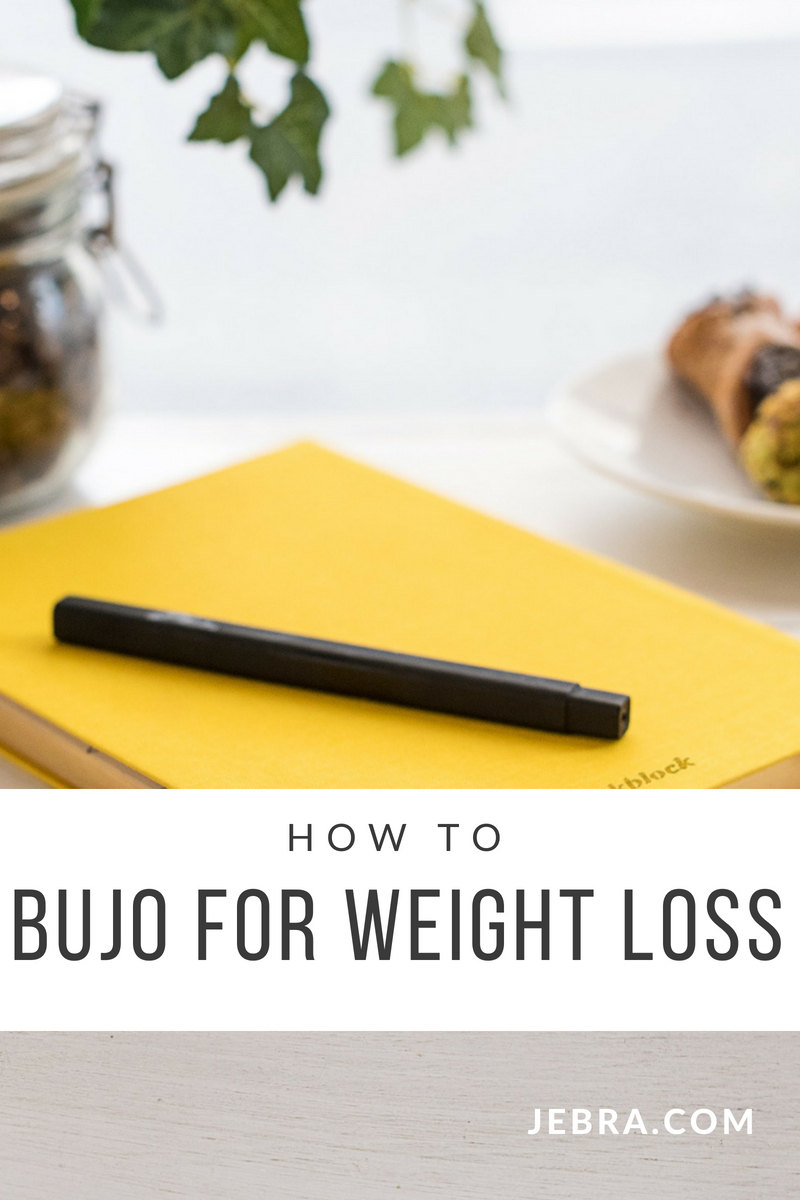 How to bullet journal for weight loss ideas, tips, and layouts.