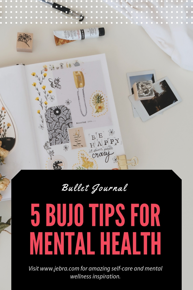 Bullet journals are amazing tools for self-care and mental health. Check out five simple ways to bujo your way to wellbeing.