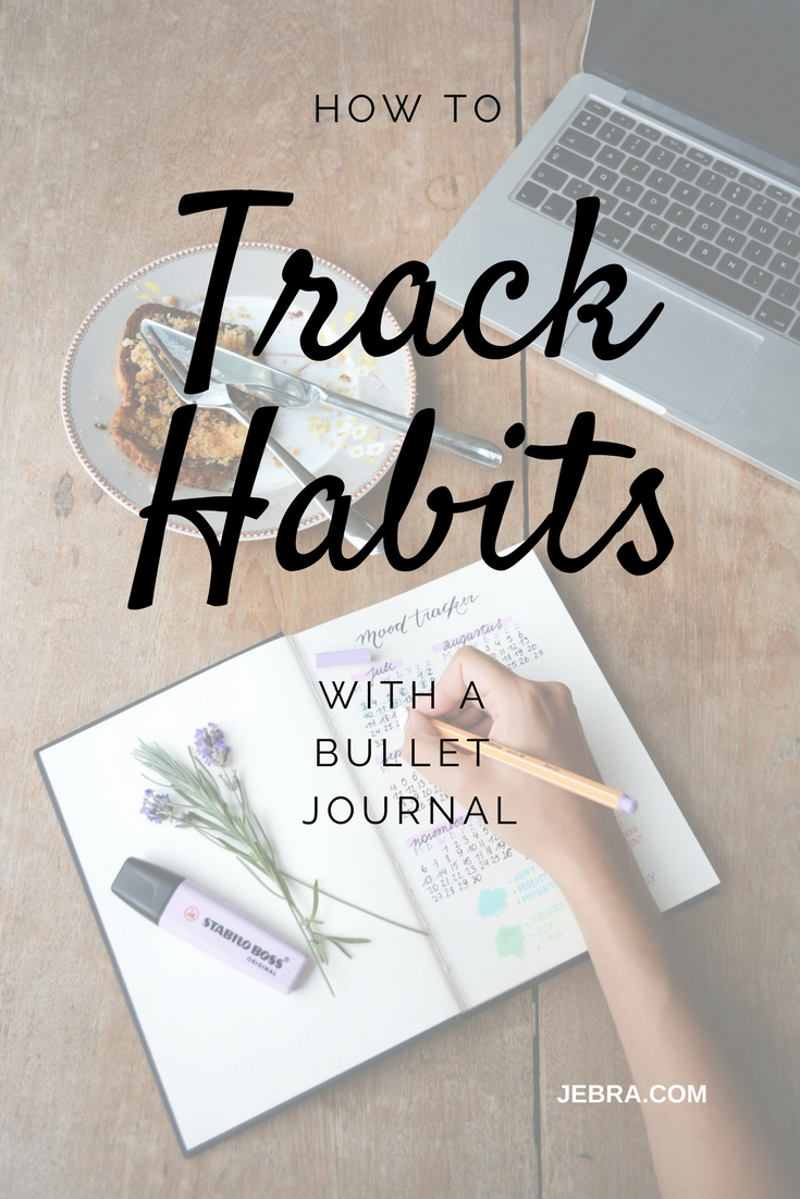 track habits with a bullet journal