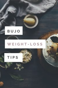 Ready to bujo on your weight loss journey? Get ideas for page spreads, health trackers, layouts, and prompts.