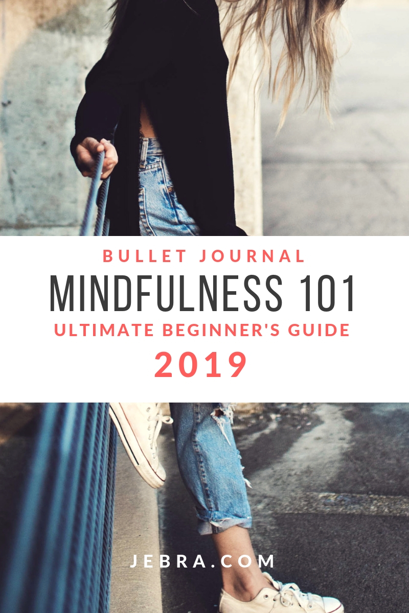 Mindfulness for bullet journal beginners. Using a bujo is a way to be mindful, but there are many other ways to practice away from the journal.