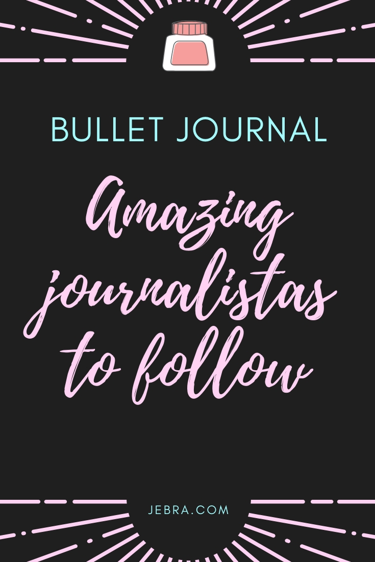 Check out these bullet journal social media accounts for info and inspiration. This is a wide community with a deep passion for sharing bujo love.