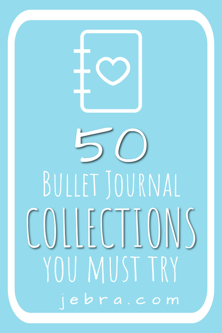 Want to keep track of stuff in your bujo so it's easy to find later, like holiday gift ideas and a family member size chart? Start bullet journal collection! Here are 50 category ideas in health, family, financial, and more.