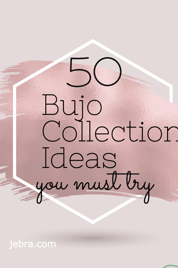 "Get 50 ideas for bullet journal ""collections"" to keep list items together so you can find them later. Categories include financial, health, and more"