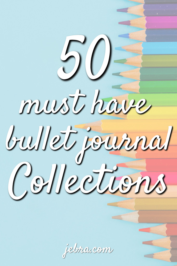 "Set up bujo ""collections"" to keep lists of ideas and other items in one place. Must-watch Netflix shows, seasonal recipes, yoga poses to try... Capture all the things in your bullet journal!"