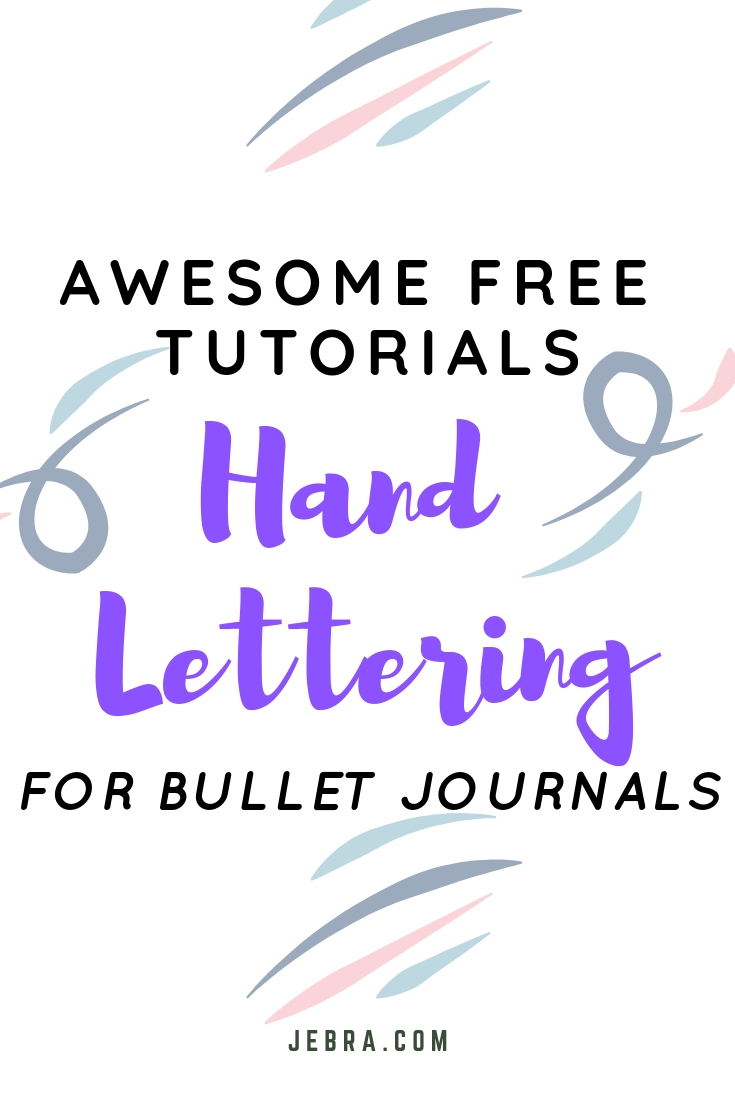 Want to improve your hand writing, learn fancy lettering, or calligraphy? Here are some top tutorials, available online for free.