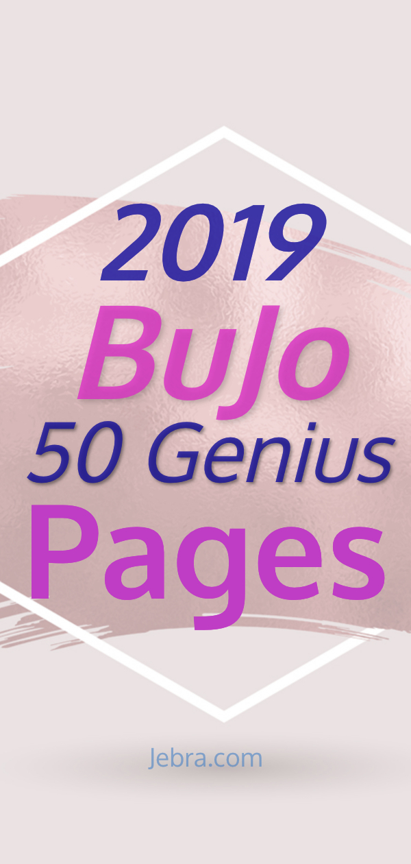 Bullet Journal Pages- Bullet Journal Collection Ideas for Your 2019 BuJo - 50 Genius Bullet Journal Collections #bulletjournal #bujo #bujolove #bujolife #bulletjournalcollections #bujocollections