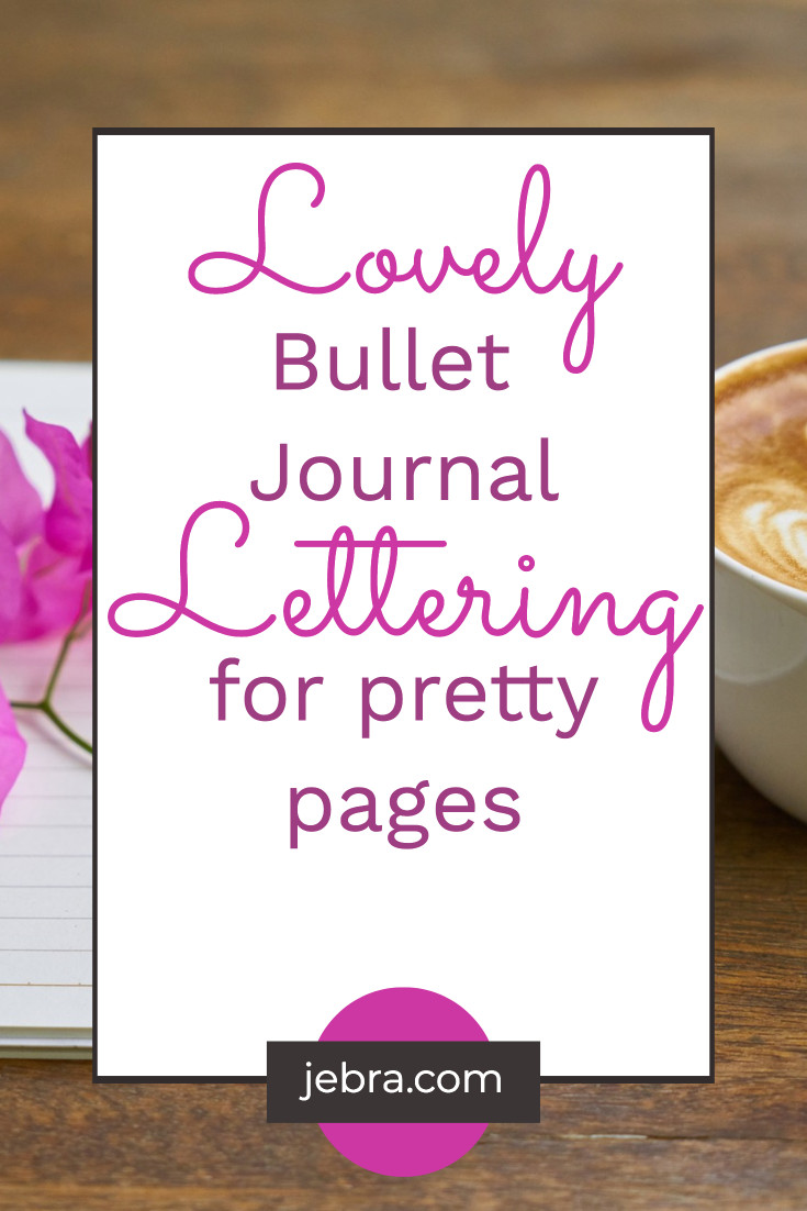 Learn hand lettering for bullet journaling with free video tutorials. Popular styles include calligraphy, brush lettering, and faux calligraphy