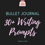 Want to do more journaling in your bujo but stumped for ideas? Use these 30 writing prompts for self-discovery for inspiration.