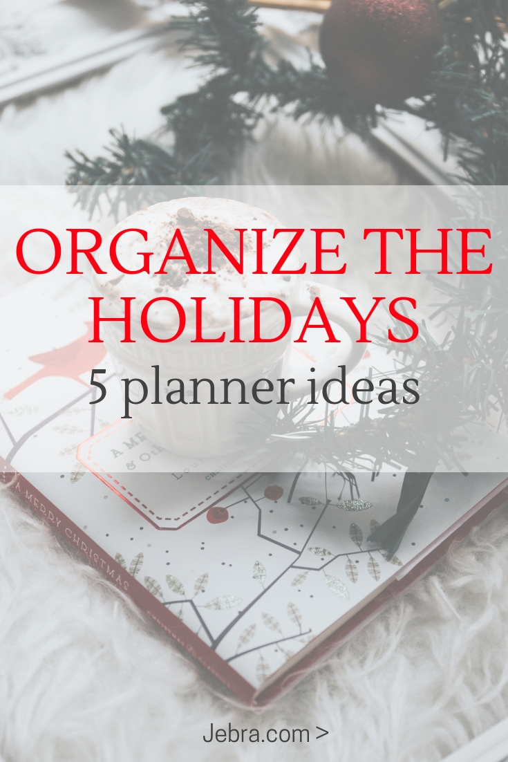 Early Christmas Planning - Holiday Planning in your Bullet Journal - Holiday and Christmas Bullet Journal Ideas - How To Plan Christmas In Your Bullet Journal or Planner