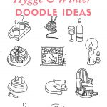 Bullet Journal Hygge & Winter Doodle Ideas - Winter Doodles and Decorations For Your Bullet Journal - Hygge Doodles For Your Bullet Journal #bulletjournal #bujo #doodles