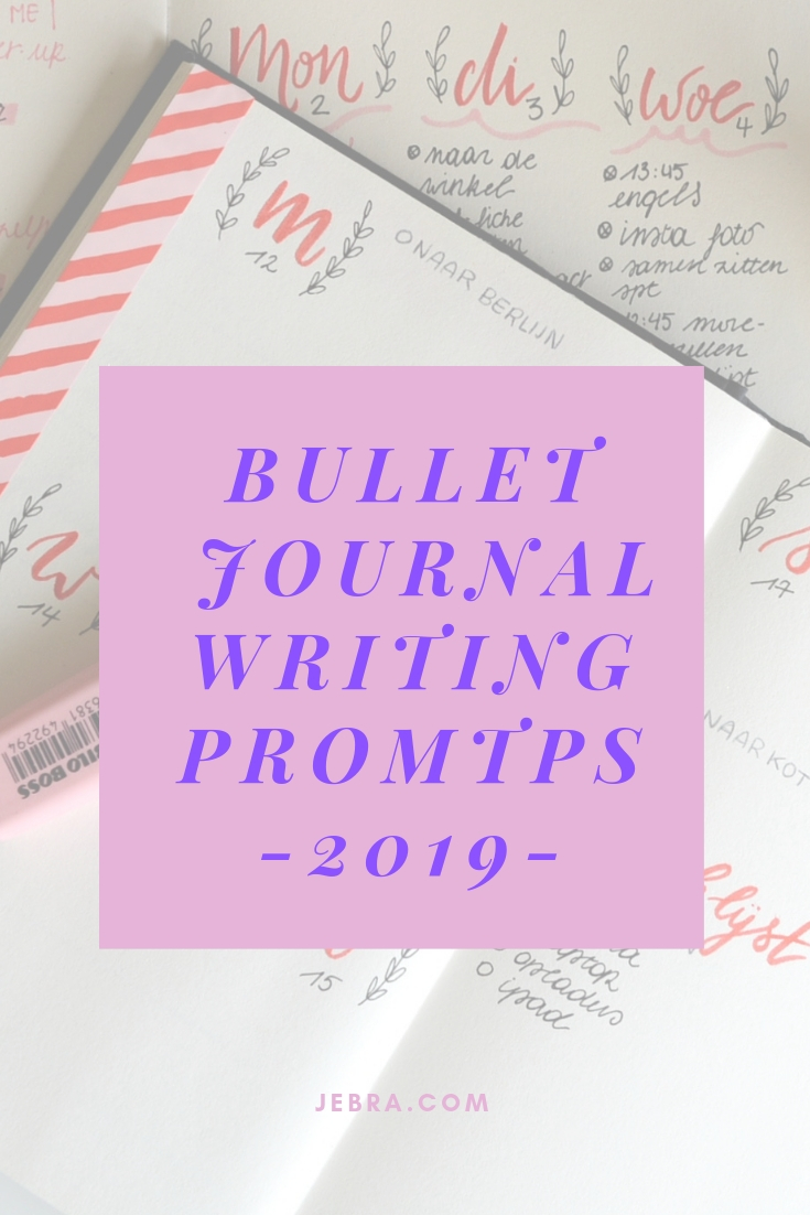 "Want to make 2019 your best year ever? A bullet journal can help! Use these questions as ""prompts"" to write out a plan for 2019."