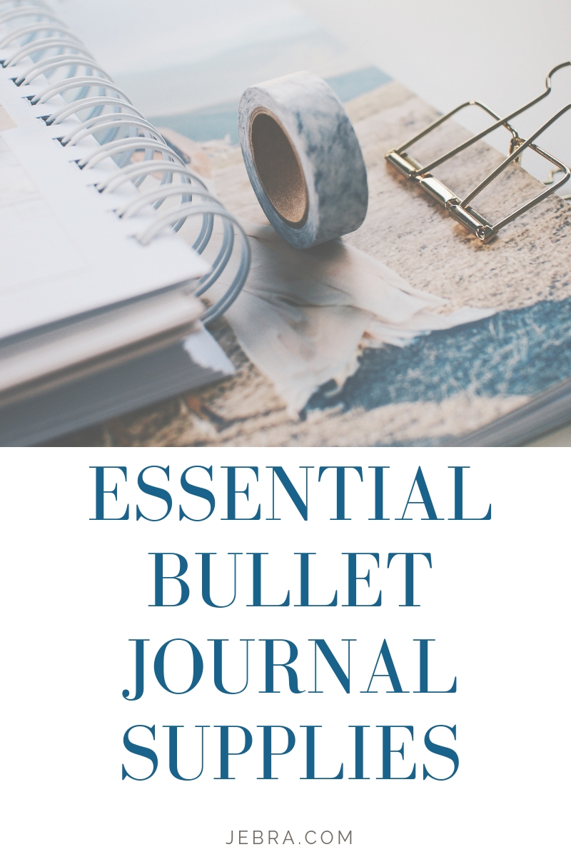 Guide to Beginner Bullet Journal Supplies. Just starting your bullet journal? Get tips on how to choose the best BuJo notebook, pens, washi tape and more. You will love bullet journaling even more when you have the right supplies.