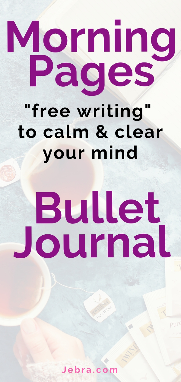 Bullet Journal Morning Pages Ideas To Try - Free Writing Collections In Your Bullet Journal - Morning Pages and Stream of Consciousness Writing in Your BuJo or Planner