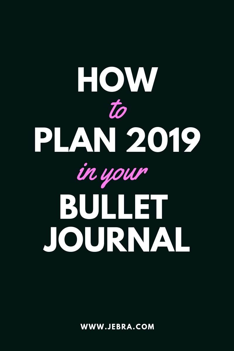 "Want to make 2019 your best year ever? A bullet journal can help! Use these questions as ""prompts"" to plan the new year."