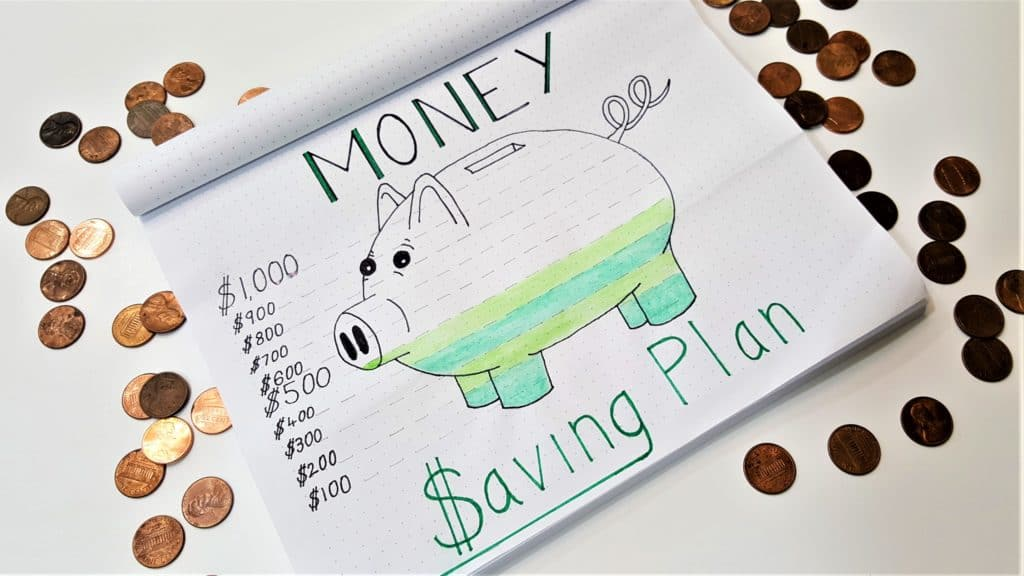 piggy bank budget planner